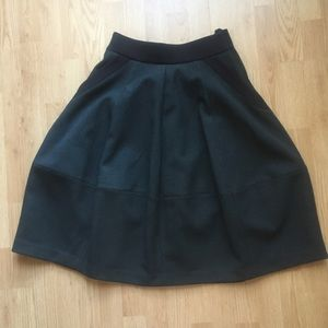 H&M A-line Midi Skirt with Pockets